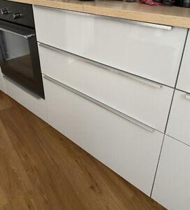 Ikea Metod Ringhult hochglanz grau Tür Front 60 x 100 Küchenfront 302.374.64 NEU