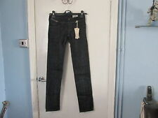 DIESEL LADIES MATIC JEANS SIZE 6 LONG LEG BLUE SKINNY LEG STRETCH NEW & TAGS £89