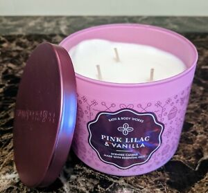 Bath & Body Works 3 Wick Candles ~ New ~ Ships Free