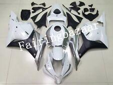 Fit for CBR600RR 2009-2012 Silver Gray White ABS Injection Bodywork Fairing Kit