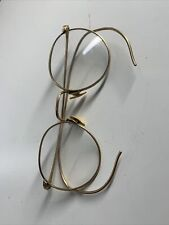 Antique Eyeglasses 1/10 12k Gold Filled Ful-Vue Vintage Glasses Frames