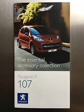Peugeot 107 The essential accessory collection Brochure