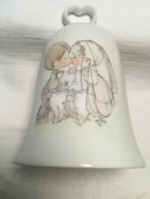 Vintage Precious Moments Wedding Bell The Lord Must Have Brought You Together