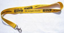 DVB Dresdner Verkehrsbetriebe AG Schlüsselband Lanyard NEU (T148)