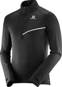 Salomon Men's Fast Wing Mid Long Sleeve Shirt Midlayer Medium