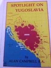 Spotlight On Yugoslavia Book~Anti-Catholic~Modern-day Roman Catholic Genocide