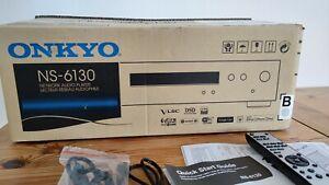Onkyo NS-6130 Netzwerk Audioplayer Schwarz