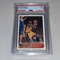 1996-97 Topps #138 Kobe Bryant Los Angeles Lakers RC Rookie HOF PSA 5 EX