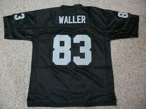 DARREN WALLER Unsigned Custom Las Vegas Black Sewn New Football Jersey Sze S-3XL