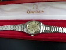 OMEGA AUTOMATIC SEAMASTER LADY'S WATCH (CLEAN & COMES WITH BOX)