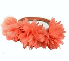 Rose Red Flower Hair Scrunchie Elastic Rope UK Shop