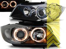 Angel Eyes Scheinwerfer für BMW E90 Limousine E91 Touring schwarz