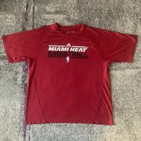 Adidas Climalite NBA Miami Heat Training Basketball Shirt Mens Large
