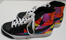 NWOT Nike Retro Blazer High Multi-Color Geometric Tennis Shoes 6.5