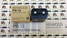 PB-13  Pacco batterie ricaricabile per Kenwood TH-27/28/47/48/78