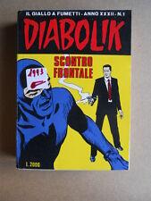 DIABOLIK Anno XXXII n°1  [G260] DISCRETO