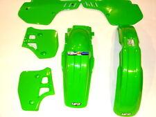 Kawasaki KX250 1988-1989 PLASTIC KIT 1 Motox GREEN UFO
