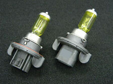 9008 H13 HIGH/LOW XENON HALOGEN FOG DRIVING AUTO LIGHT BULBS YELLOW
