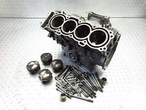 2001 00-01 Honda CBR929RR 929 CBR Crank Case Crankcase Pistons Bolts Engine