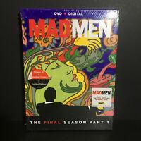 Mad Men The Final Season Part 1 3 DISC SET 2014 DVD NTSC Region ONE - NEW SEALED