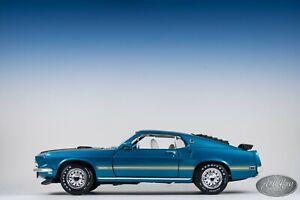 1/18 ERTL American Muscle 1969 Ford Mustang Mach 1 As Is