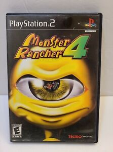 Monster Rancher 4 (Sony Playstation 2 PS2, 2003) COMPLETE CIB Tested & Cleaned!