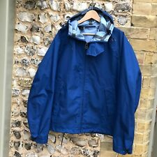 MENS TEN C BLUE HOODED JACKET XXL 54 ZIP UP ANORAK B7/7 COAT CP NEMEN ISLAND