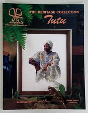 Vintage '97 TUTU Counted CROSS STITCH Patterns by JANET POWERS