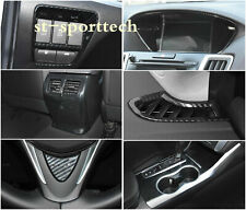 For 2015- 2019 Acura TLX Carbon fiber style Interior Accessories Cover Trim Kit