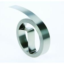 DYMO 304 Stainless Steel Embossing Tape (12mm x 6.40m) 21 Feet - 32500