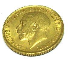 Goldmünze Großbritannien England, George V, Sovereign 1912, im Blister