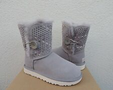 UGG PENCIL LEAD TEHUANO BAILEY BUTTON II SHEEPSKIN BOOTS, US 9 / EUR 40 ~NIB