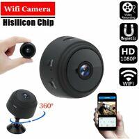 Mini Hidden Spy Camera Wireless Wifi Home Security HD 1080P DVR Night Vision f