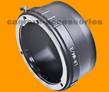 Leica R LR lens to Micro Four Thirds m4/3 MFT mount adapter Olympus Panasonic