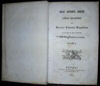 Storia - Roma antica - Figurati - 12 tavole fuori testo - 1845