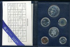 1985 Royal Canadian Mint Proof (6) Coin Set JE670