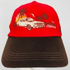 Billabong Vintage Chevy Chevelle Sunset Palm Trees Hat Cap Adjustable Mesh