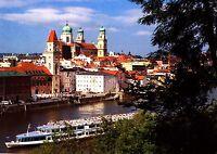 Passau , Ansichtskarte , gelaufen