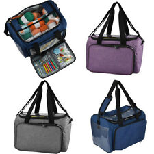 Large Diy Knitting Storage Bag Portable Yarn Thread Tote Crochet Hooks Organizer
