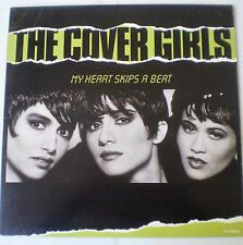 "THE COVER GIRLS - ""MY HEART SKIPS A BEAT"" (6 Versions) 12""SINGLE - 1989"