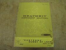 Heathkit HN-31 Cantenna original manual, cover rough boxes unchecked