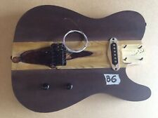 More details for loaded tele style electric guitar body (b6)