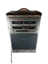 Optimus Kareoke Machine!! Cat. No. 32-1161 Dual tape Cassette deck!!