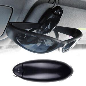 Universal In-Car Sun Visor Glasses Box Sunglasses Clip Card Ticket Holder Pen