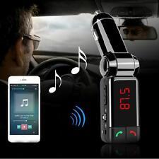 LCD Kit de coche bluetooth mp3 FM Transmisor cargador usb manos libres