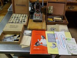 Kingsley Stamping Machine Monogram Marking System, Hot Foil, Dies, Accessories