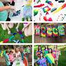 5 Colour Tie-Dye Kit DIY w/ 40 x Rubber Bands + 4 pairs x Vinyl Gloves Party ❤