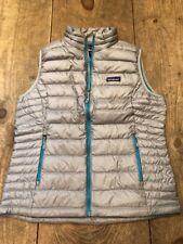 NEW Patagonia Down Sweater Vest Women's Medium M  Gray NWT 800 Fill Goose $179