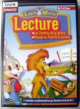Jeu PC - CD-Rom - Lapin Malin Les chemins de la Lecture - 4 à 8 ans