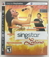 SingStar Latino (Sony PlayStation 3 bundle new-sealed(mics & converter) ps3